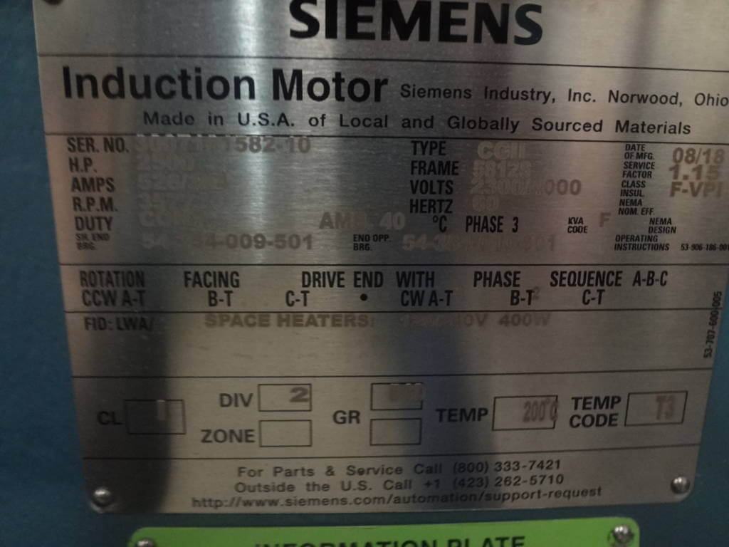 Siemens Support Request