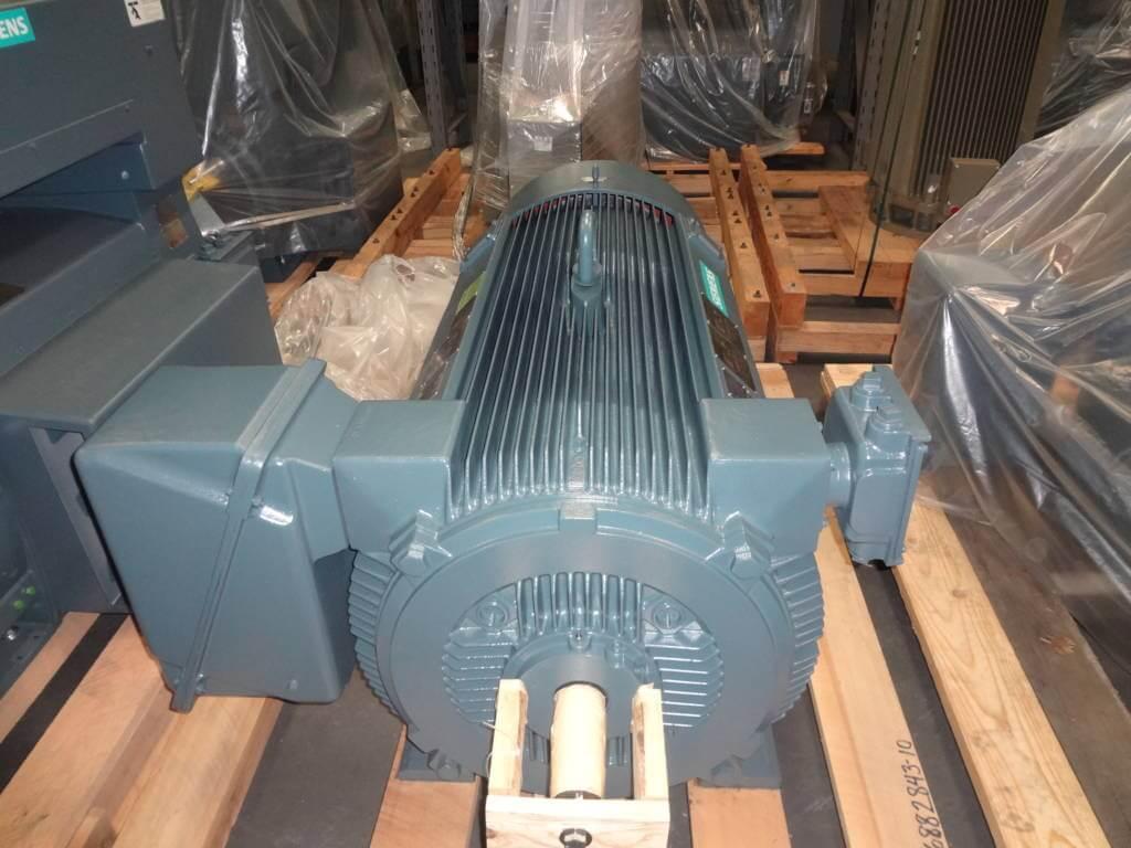 800 HP, 3600 RPM, SIEMENS, FRAME 5810S, BBTEFC, 2300/4000V, NEW, (2 ...