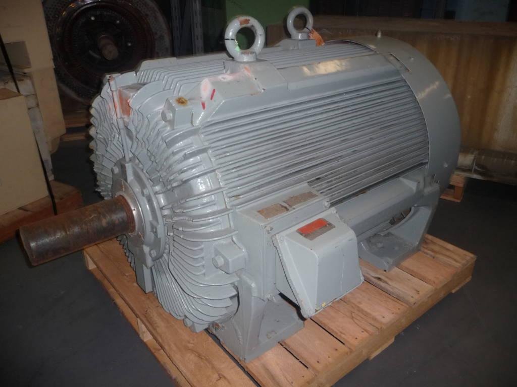600 Hp 1800 Rpm Teco Frame 6806b Bbtefc 2300 4160v