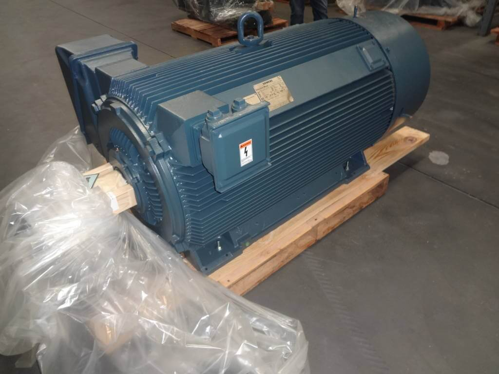 600 Hp 1200 Rpm Siemens Frame 5810 Bbtefc 2300 4000v New 2